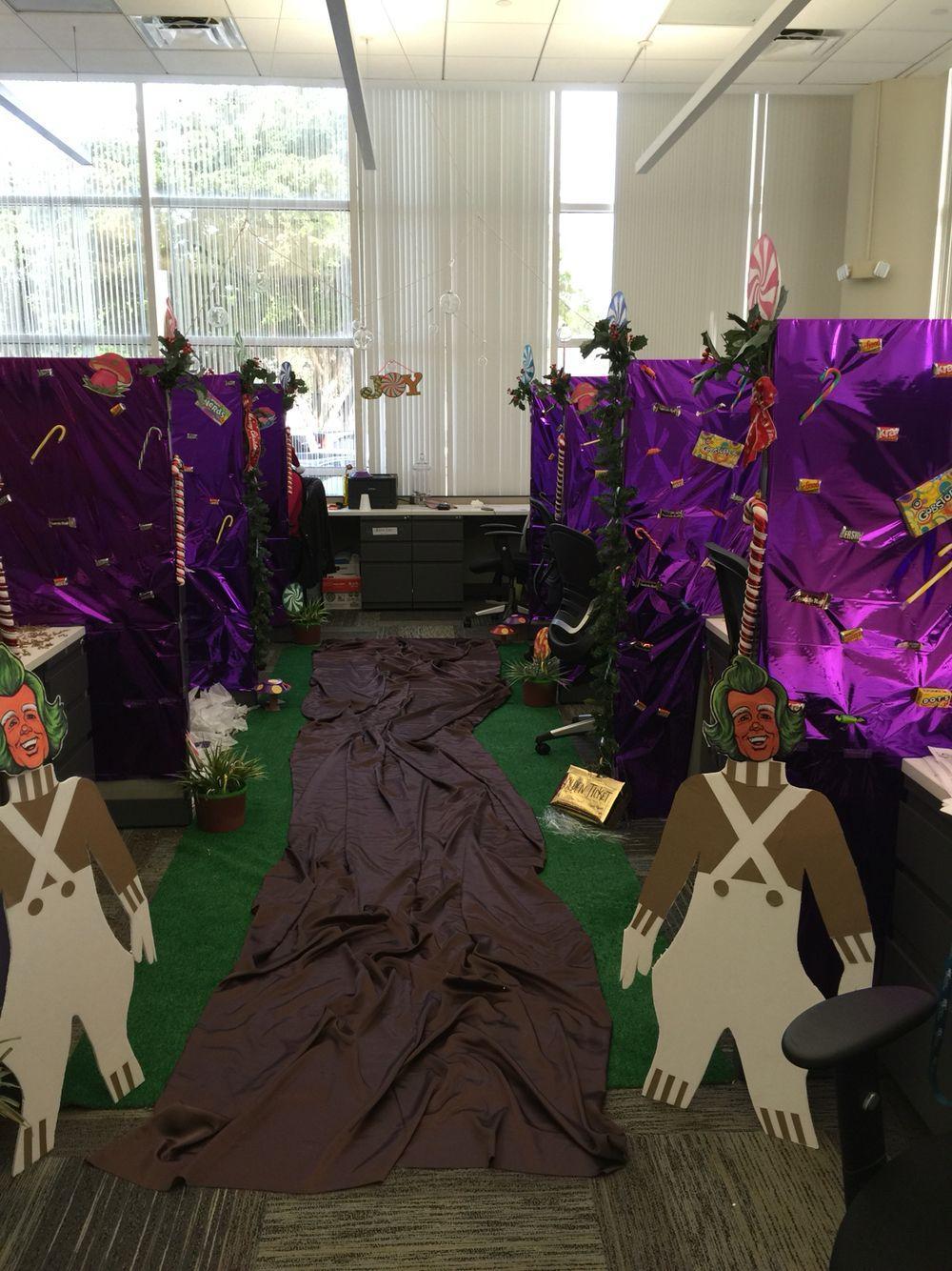 Willie Wonka Office christmas, Halloween decorations