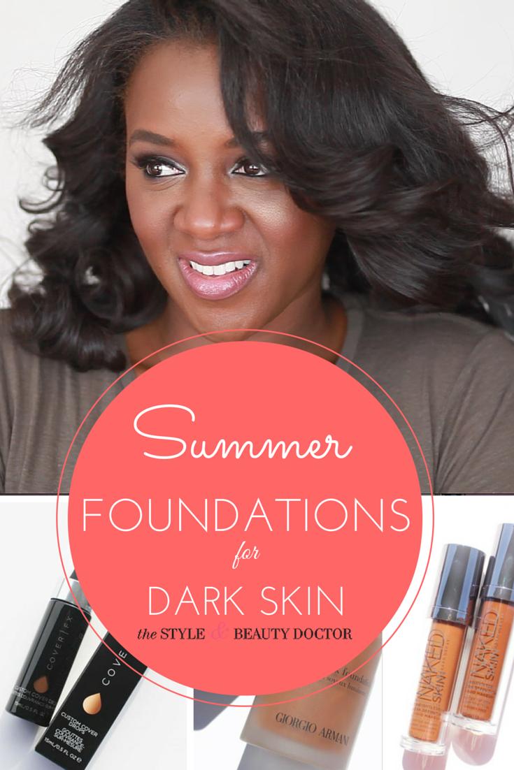Light Summer Foundation Options For Dark Skin  On The -8439