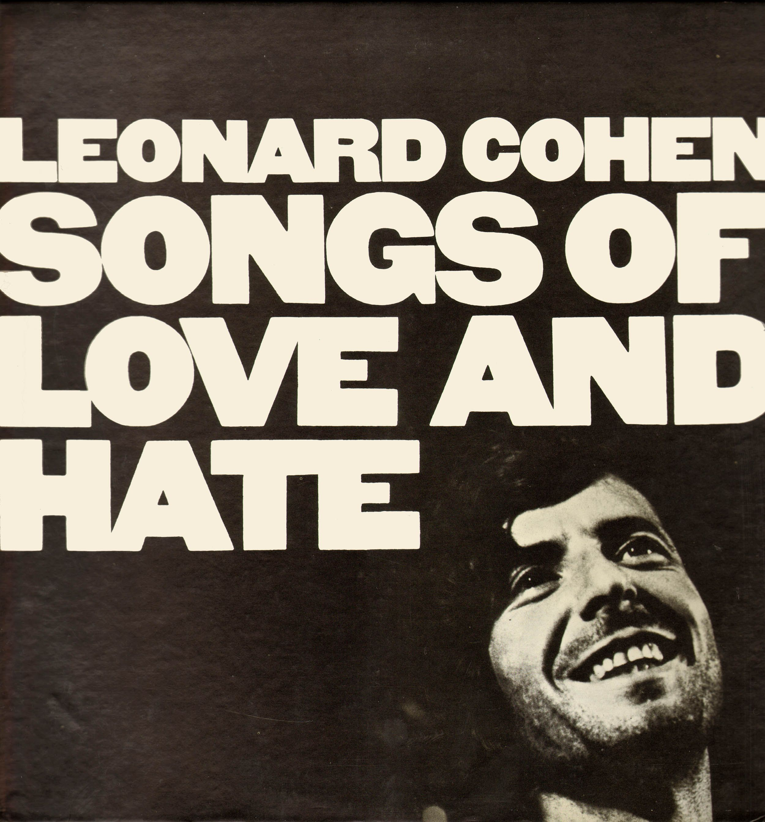 bf24ffde7ba4d Leonard Cohen- Songs of Love and Hate
