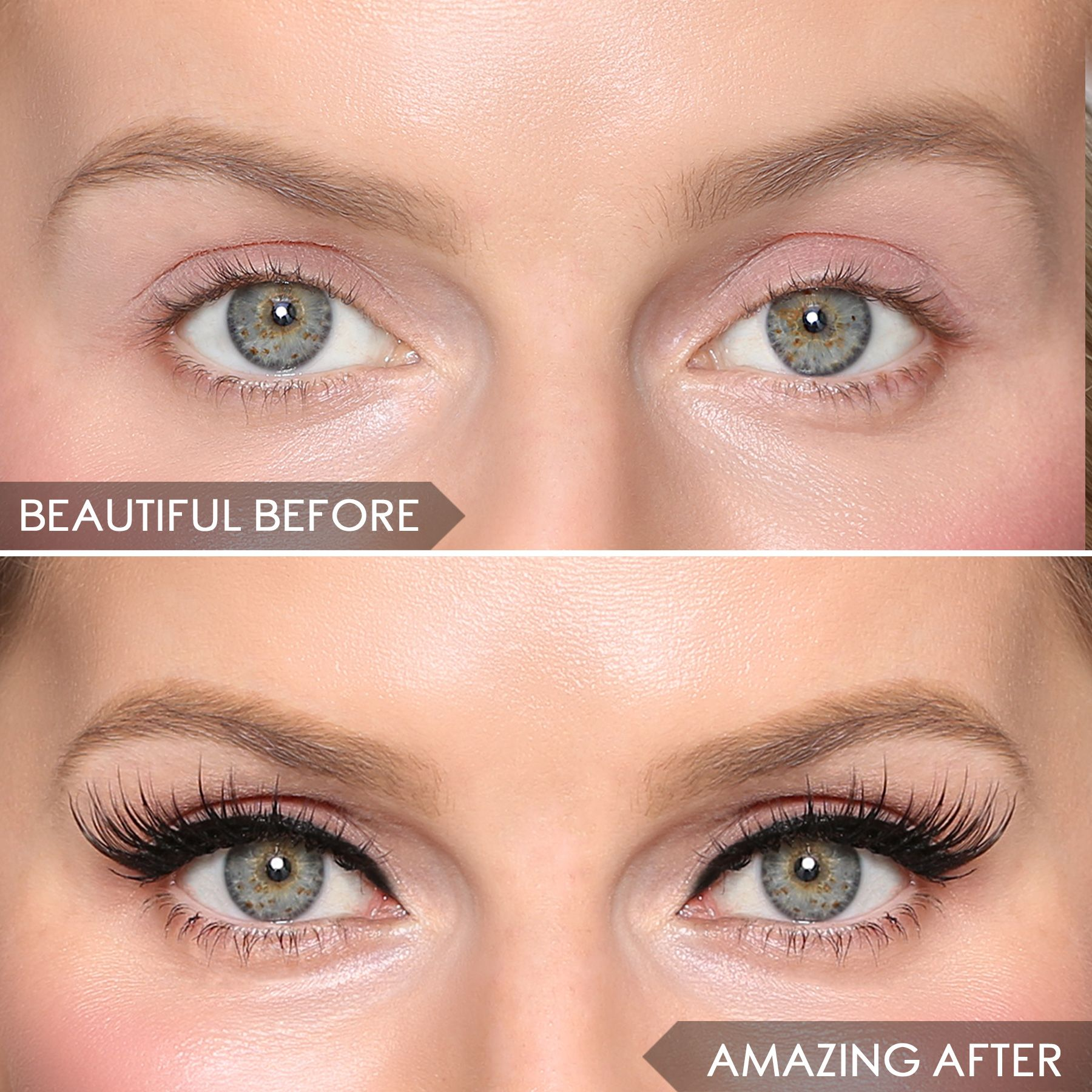 Before after magnomatic enhance your eyes with length