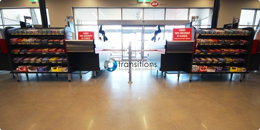 IGA Supermarket, Beerwah Shopping Village | Brisbane, Australia | Transitions Polished Concrete Floors