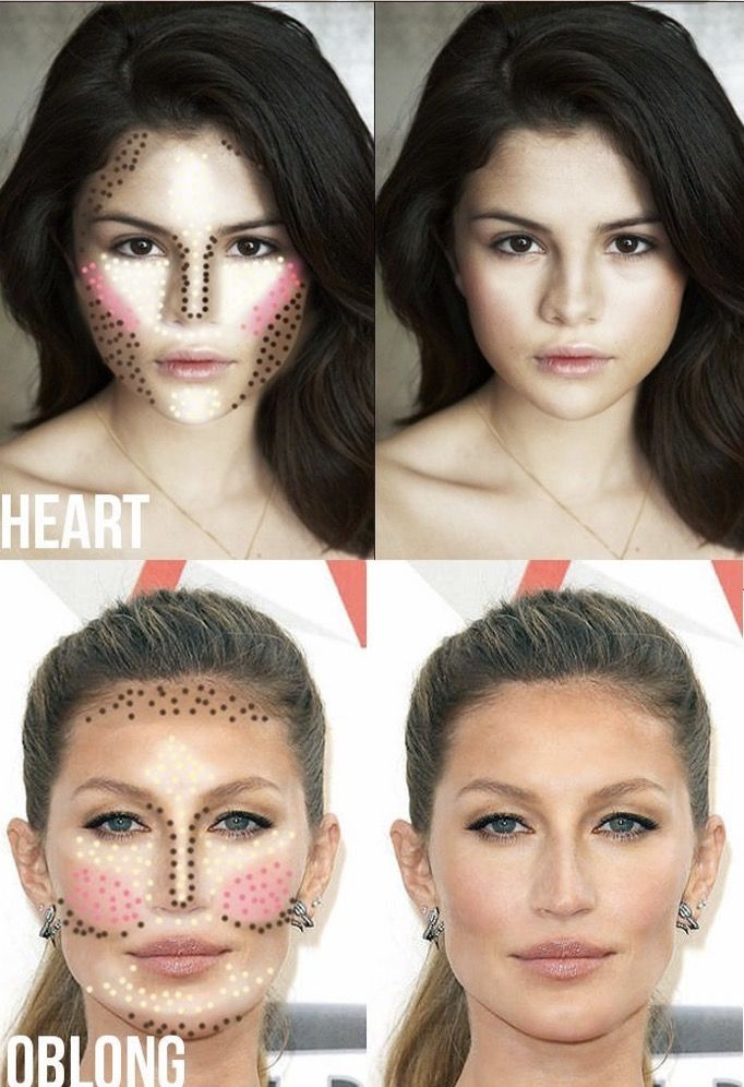Brilliant Contour Map For Round And Oval Faces Face Makeup Tips Schematic Wiring Diagrams Amerangerunnerswayorg