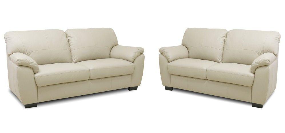 Cream Leather Sofa Google Search