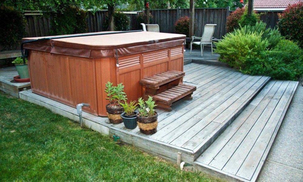 Small Backyard Ideas Hot Tub   www.imgkid.com - The Image ...