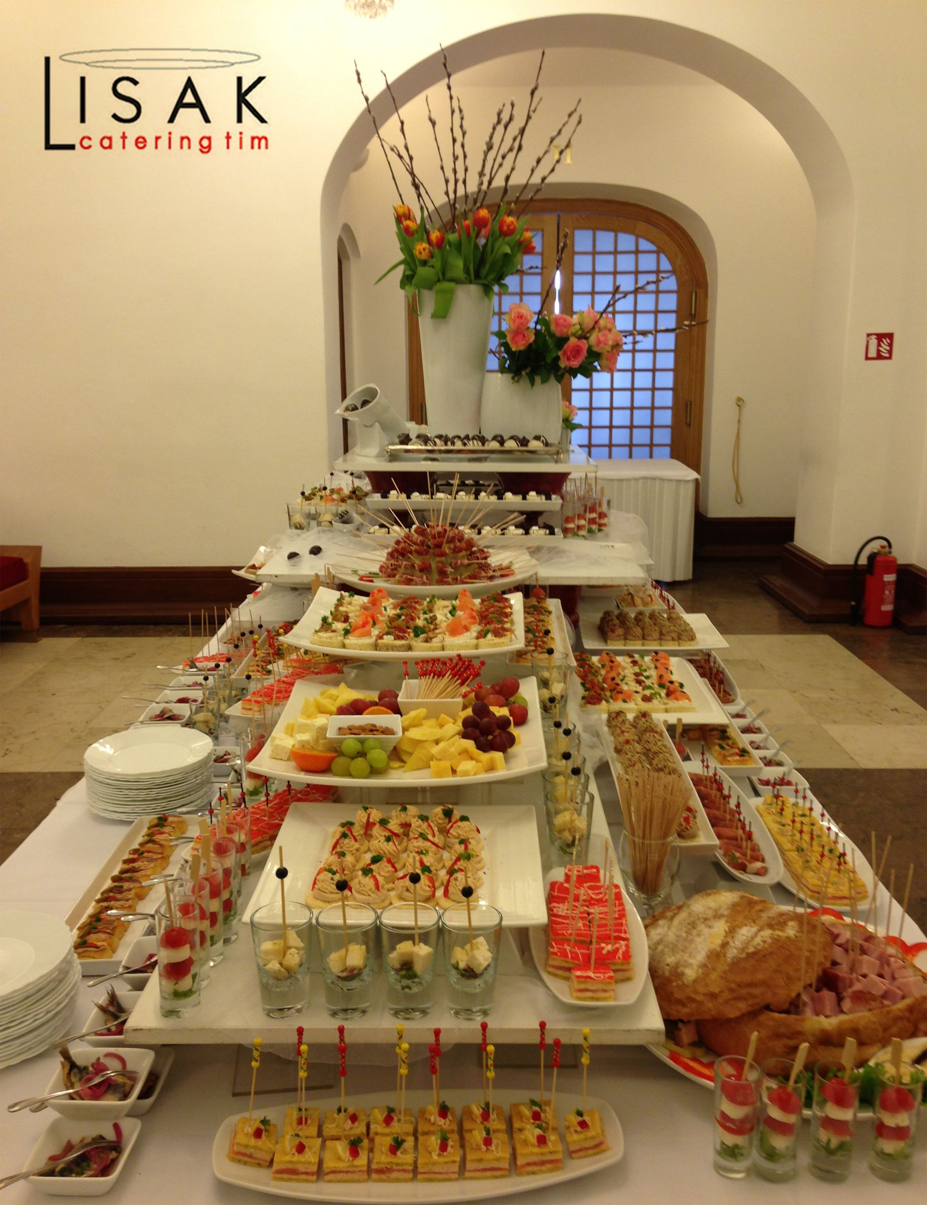 Finger Food Buffet Set Up Party Buffet Catering