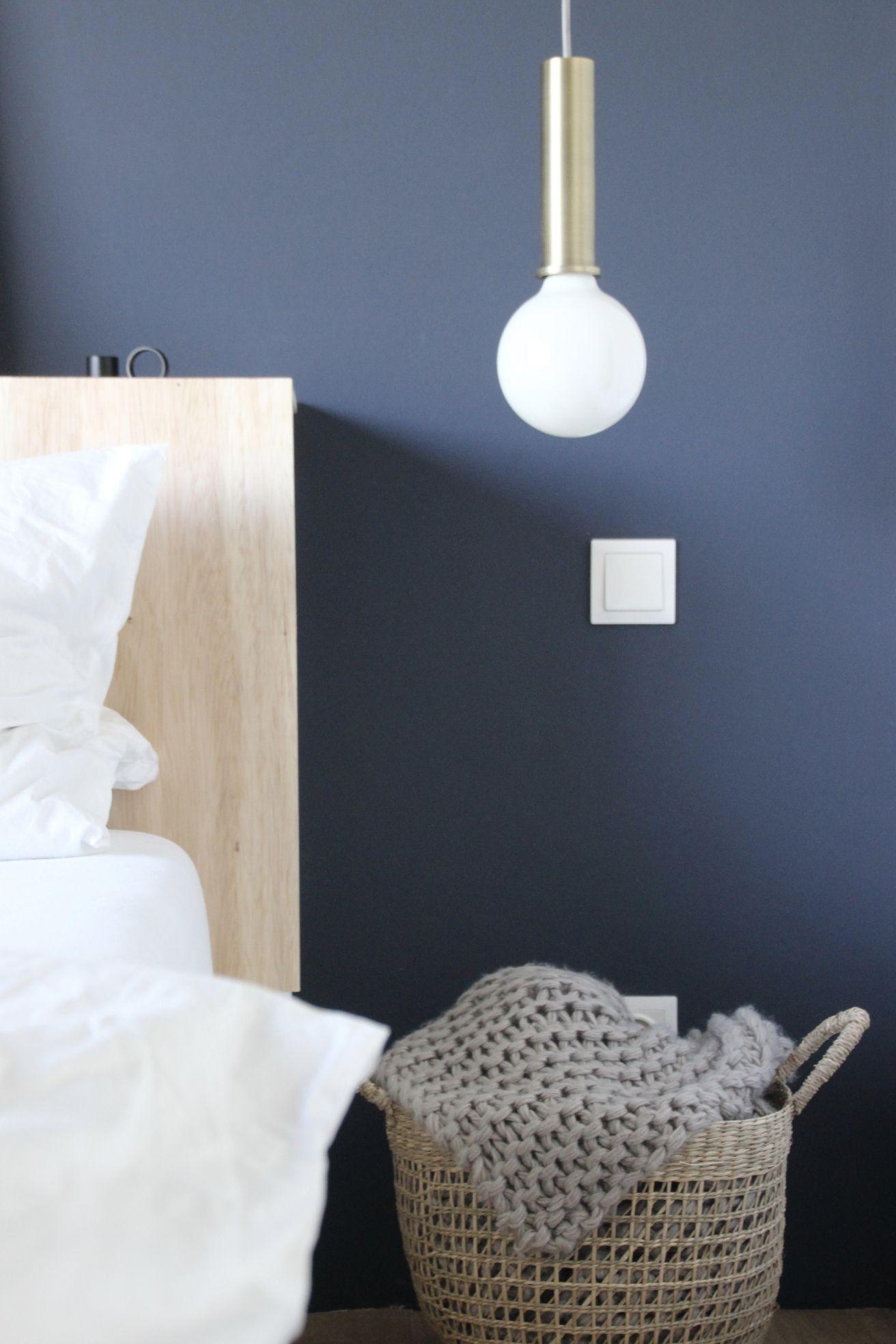 Trendfarbe Belem Architects Finest Blau Schoner Wohnen Wandfarbe Wohnungseinrichtung Schlafzimmer Zimmer