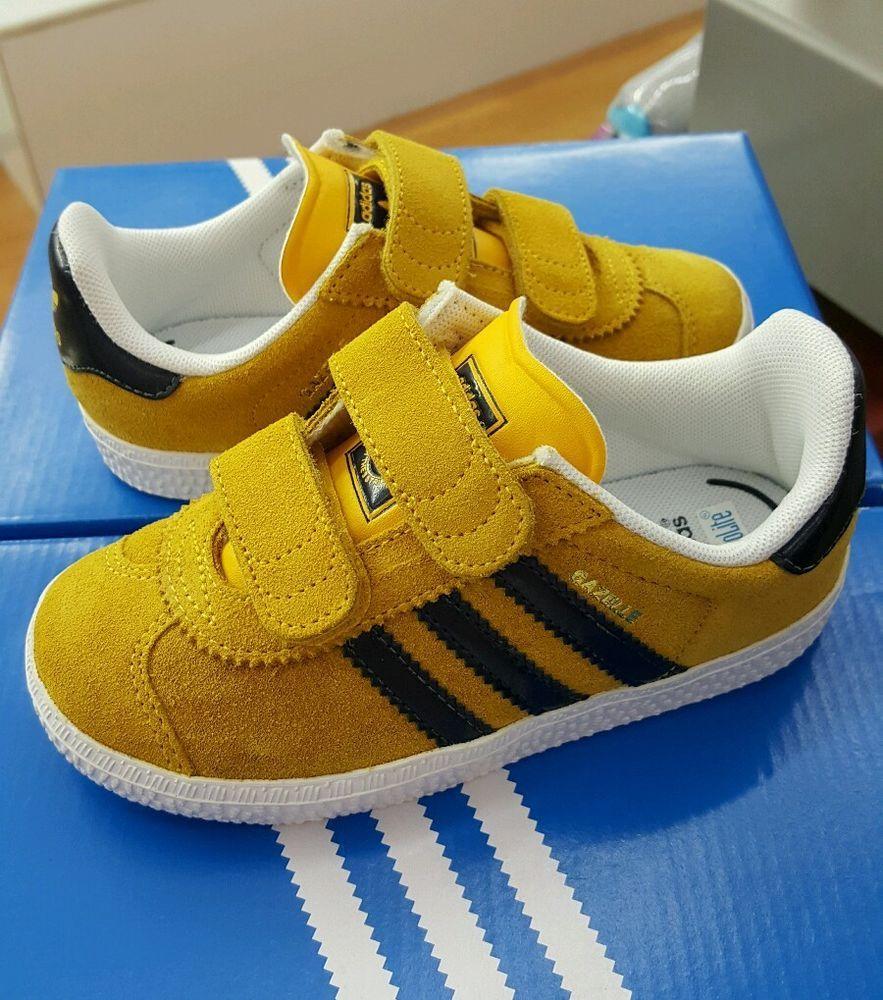 adidas gazelle azule amarillo