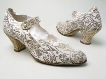 Wedding Shoes ~ 1927