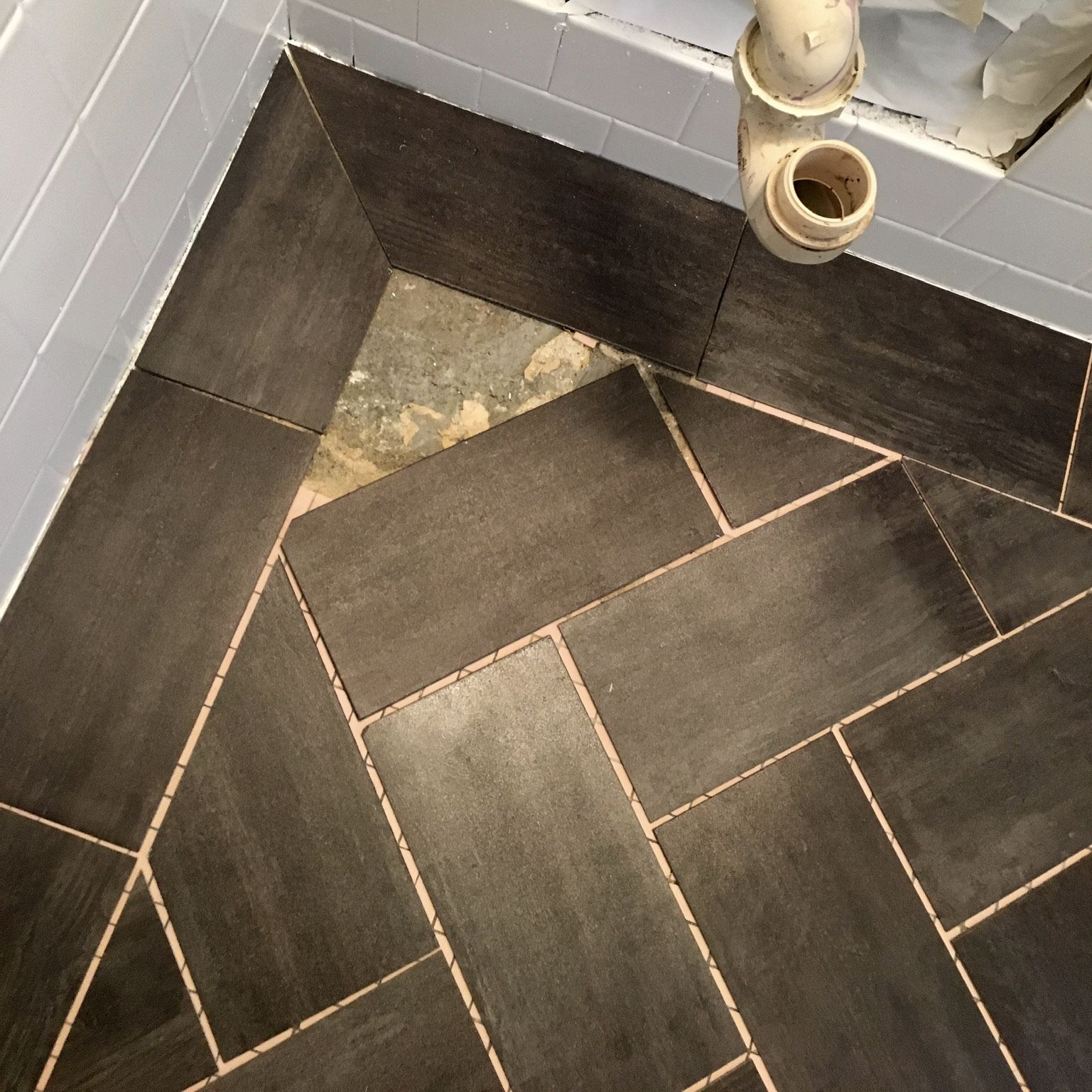 How to Install a Herringbone Pattern Peel-and-Stick ...