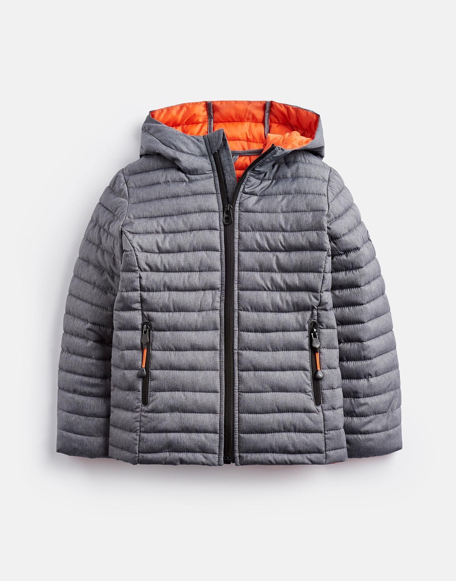 4c00add3601a Cairn GREY MARL Packaway Padded Jacket 3-12yr