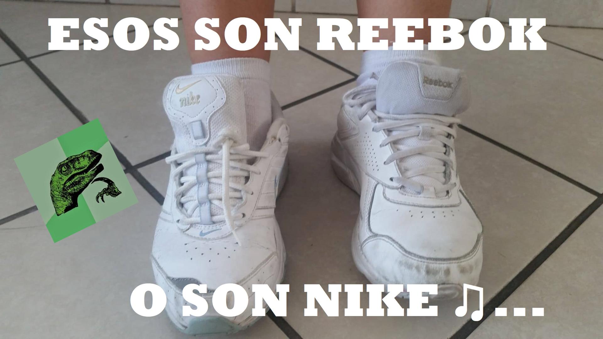 pico Pero Pelmel  Esos son reebok o son nike ♫... Tenis para gente cool, porque ser cool es  chido ;) | Nike, Reebok, Memes