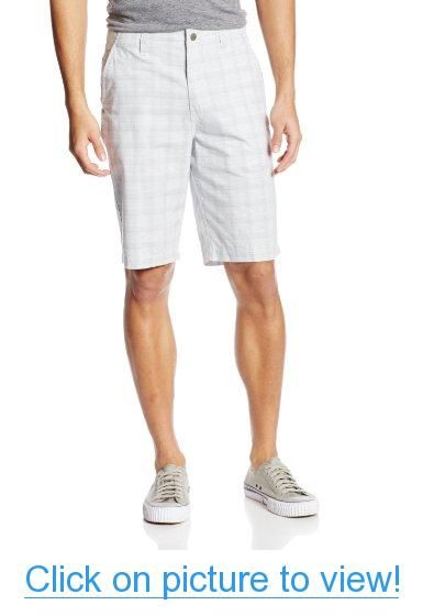 Calvin Klein Jeans Men's Plaid Trouser Short #Calvin #Klein #Jeans #Mens #Plaid #Trouser #Short