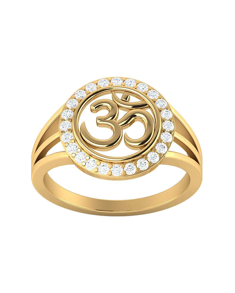 ring flash inspire pin large gold rings plated om pinterest