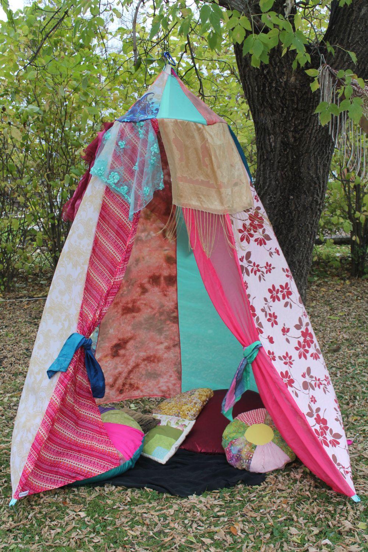 Boho Canopy Gypsy tent handmade by colouraddiction on Etsy & Boho Canopy Gypsy tent handmade by colouraddiction on Etsy | tents ...