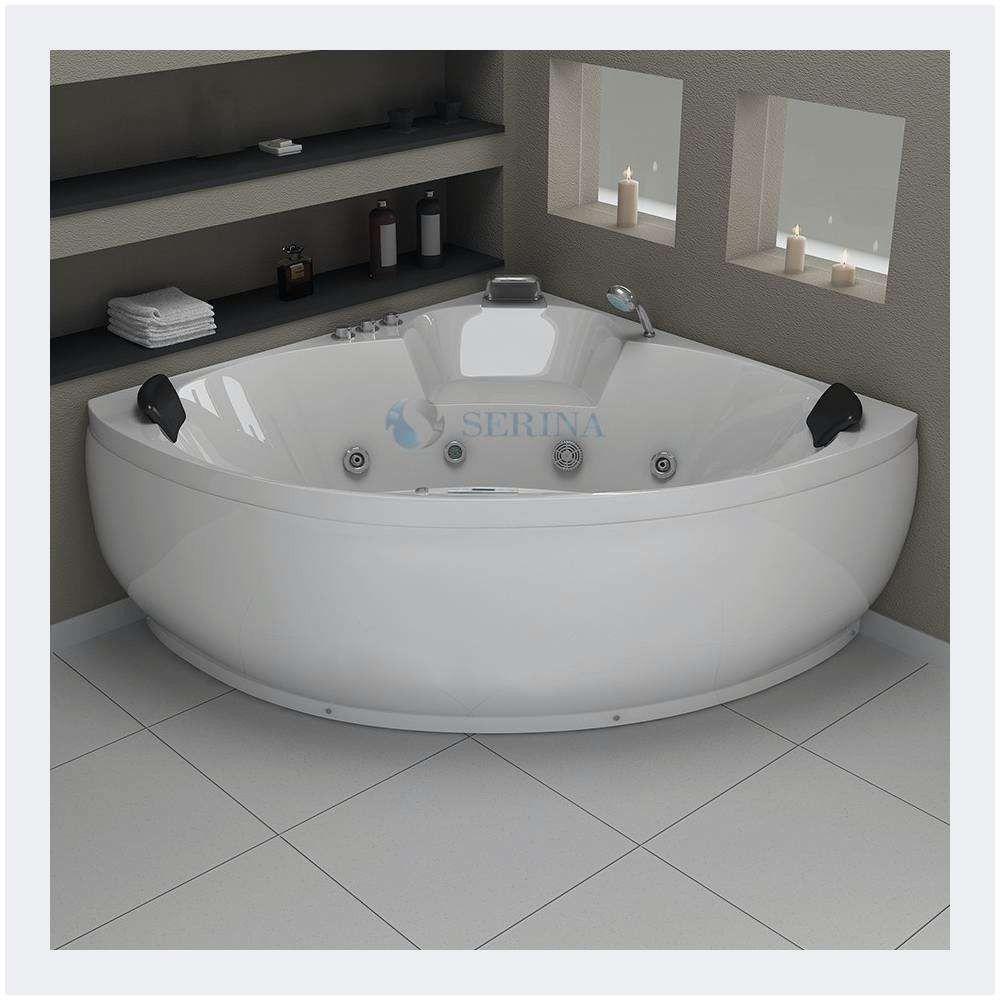 Baignoire D Angle Avec Douche Nous Avons Jamais Vu Corner Bathtub Bathroom Bathtub