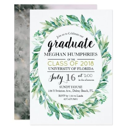 Add Photo  Graduation Announcement Invitation  Graduation Party