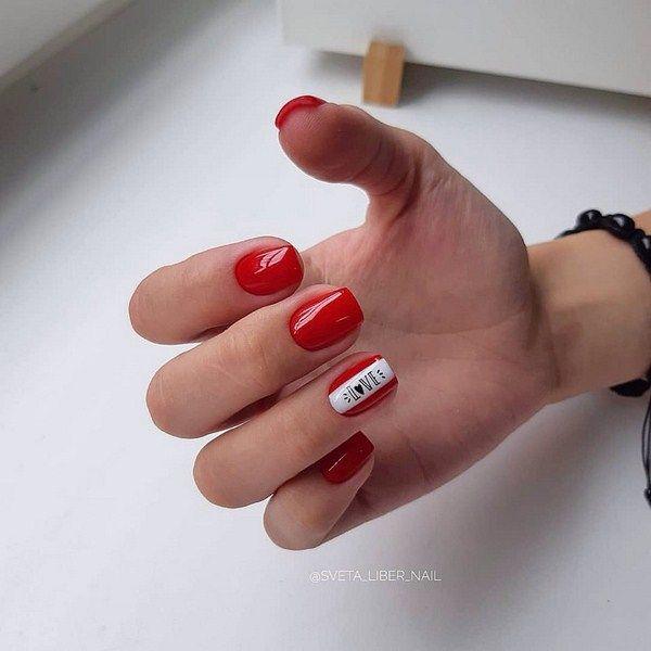 Ногти Дизайн Новинки 2019 Осень Фото Втирка