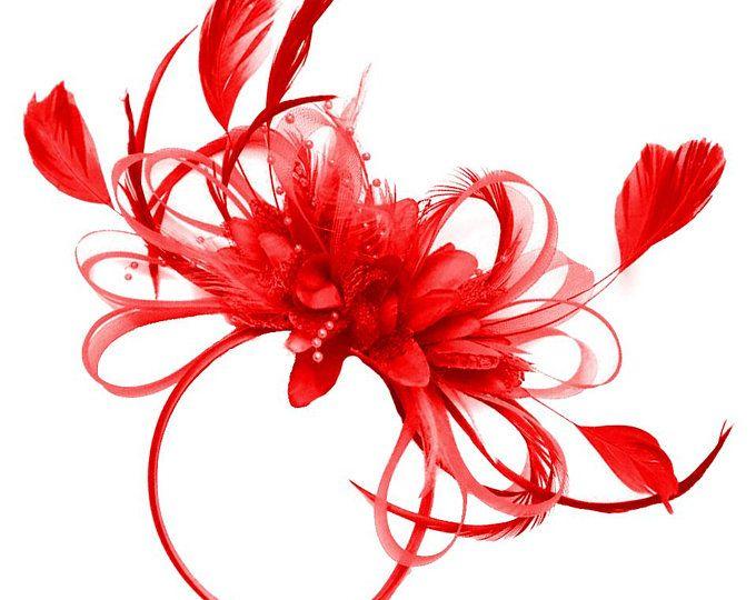 1eb700756ea3a Caprilite Fuchsia Hot Pink Wedding Fascinator Headband Alice Band ...