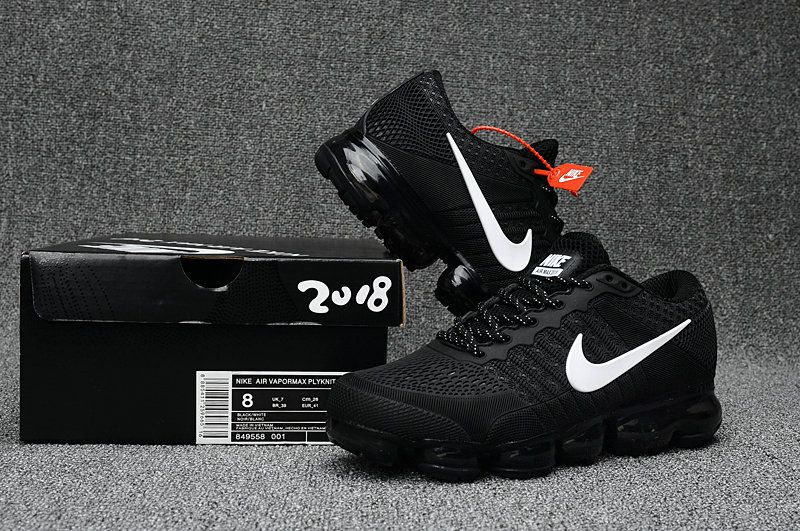 Cheap Official Nike Air Max 2018 Black White Sneakers
