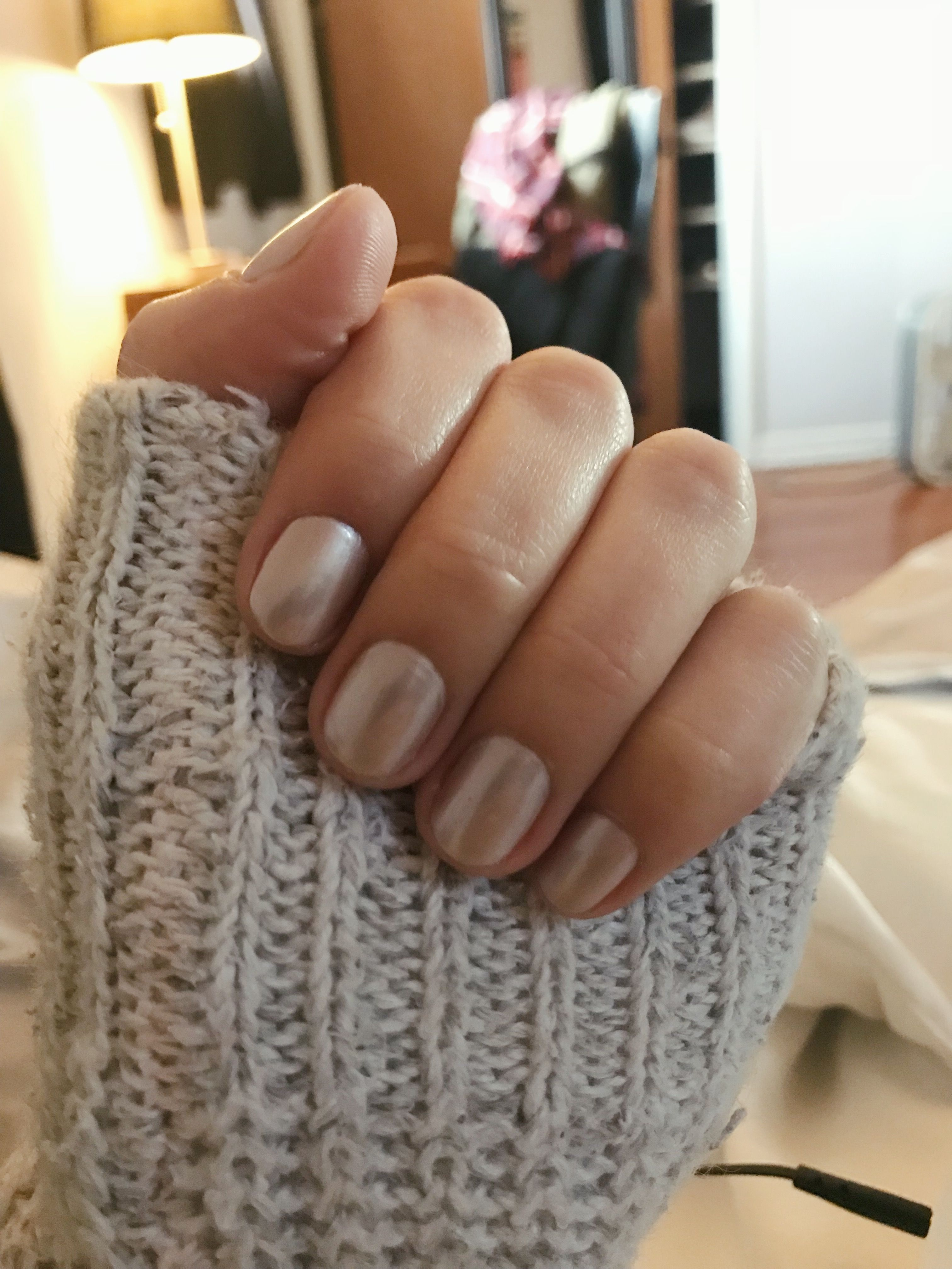 Super Short Nails While Recovering From Sns Damage Sns Nails How To Do Nails Short Nails