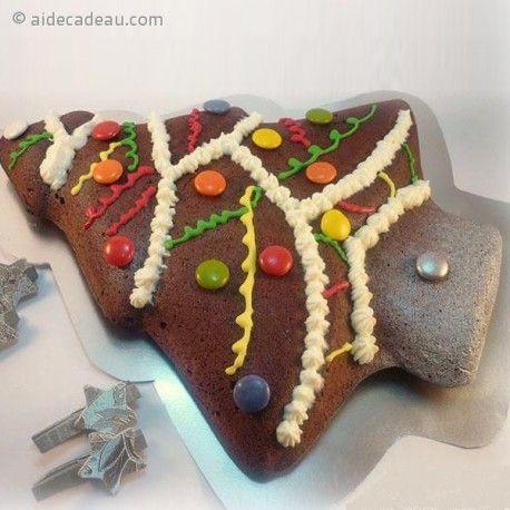 Moule à gâteau sapin de noël silicone   AideCadeau.| Moule a