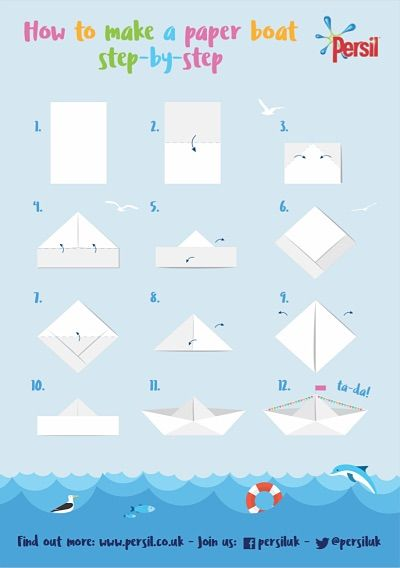 Image result for how.to make a paper boat | Make a paper boat. Paper boat. Paper boat origami