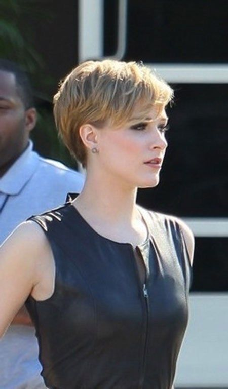Short-Sexy-Layered-Pixie Best Celebrity - Hair Beauty