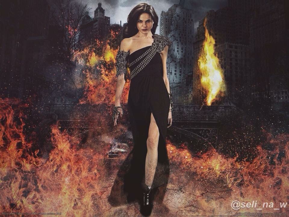 Awesome Regina (Lana) as an awesome warrior in awesome art