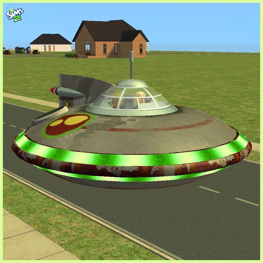 Pin on Sims 2 SciFi Vehicles