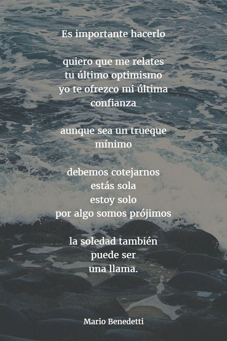 Poemas Mario Benedetti 8 Frases Benedetti Poesia