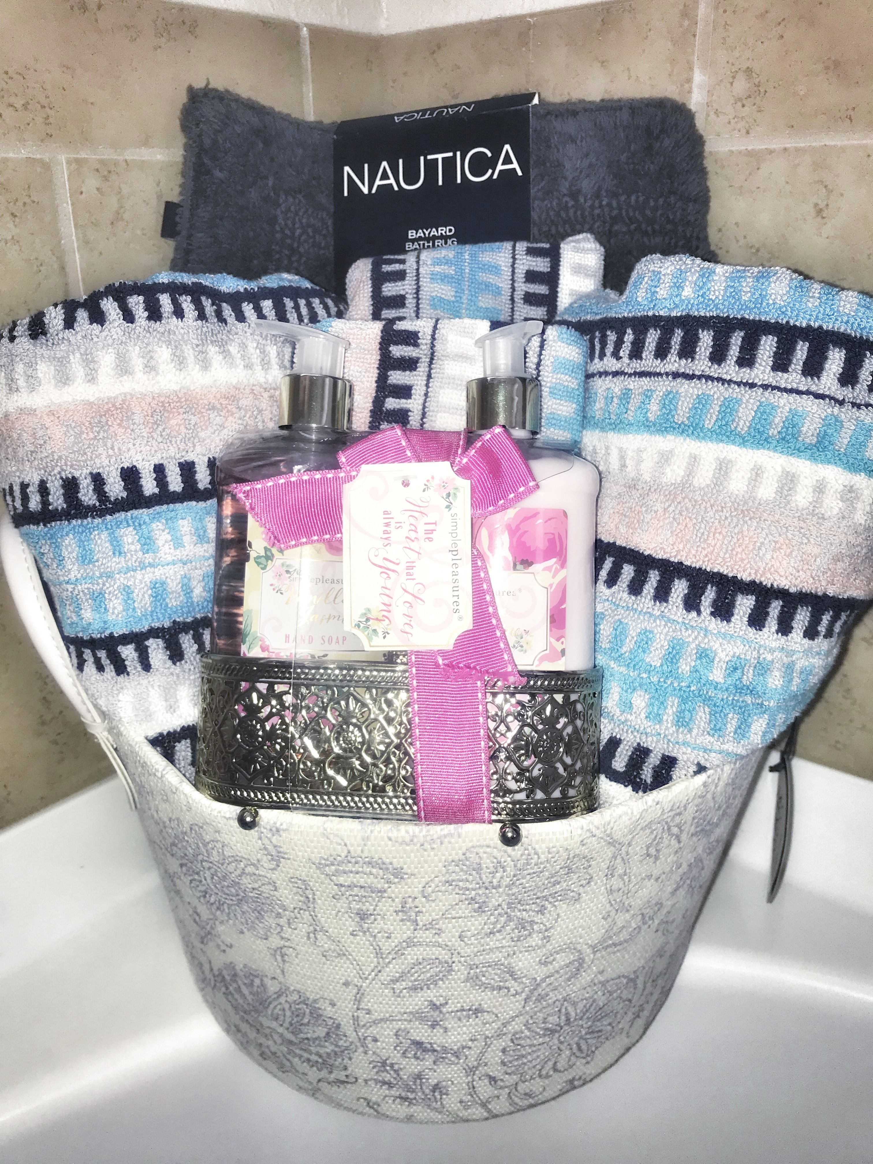 Bathroom Gift Basket Great For