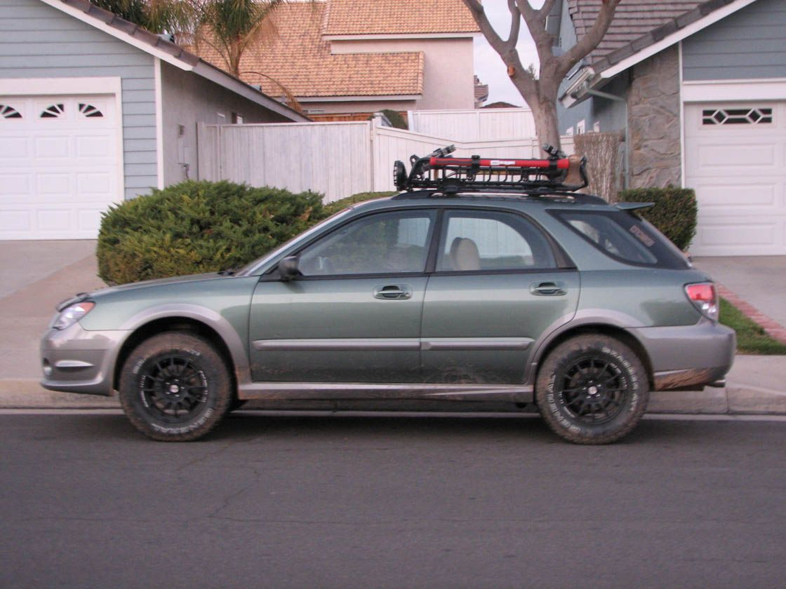 06 impreza outback sport vs. '08 wrx - i-club | adventure mobile