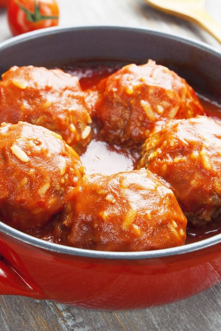 Old Fashioned Porcupine Meatballs Recipe With Tomato Soup Rice Onion Ground Beef And Worces Meatball Recipes Easy Porcupine Meatballs Recipe Tomato Recipes