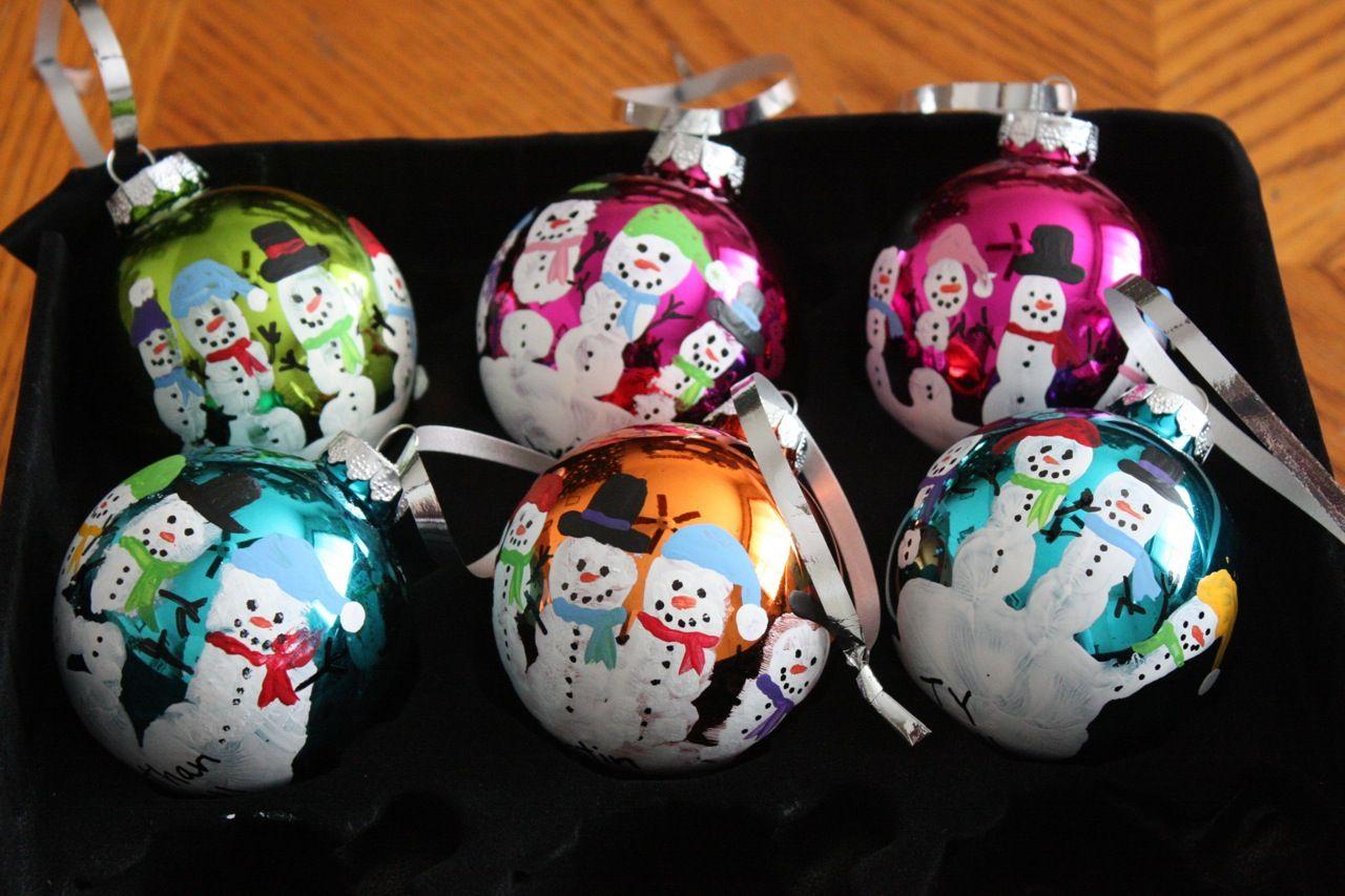 Christmas Craftiness Preschool Handprint Santas Amp Snowmen