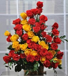Love Flower Basket