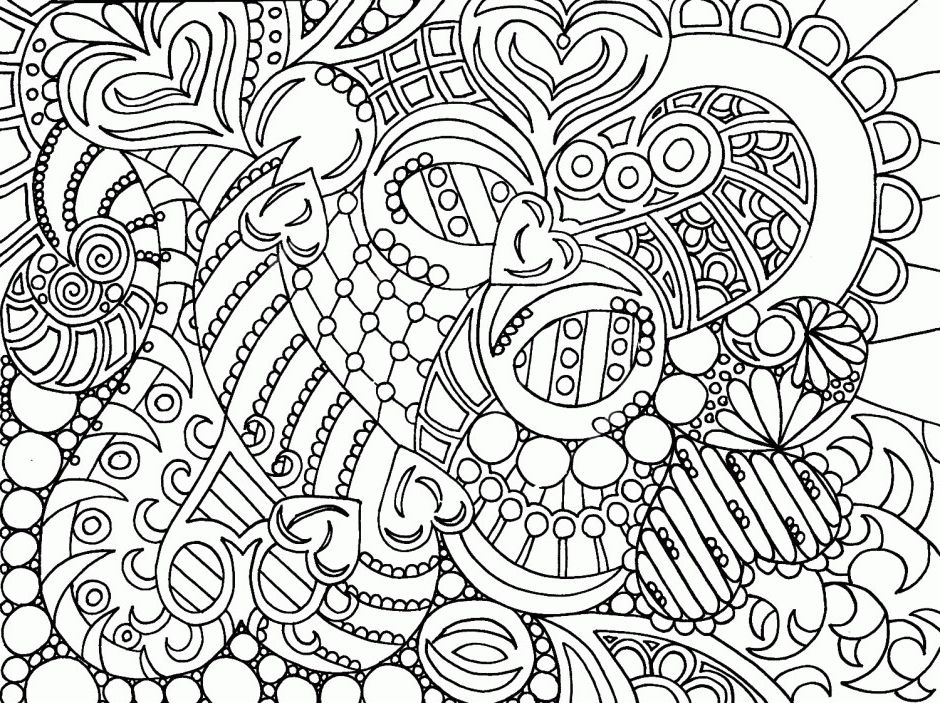 Advanced Online Coloring Pages Coloring Page Adult Coloring
