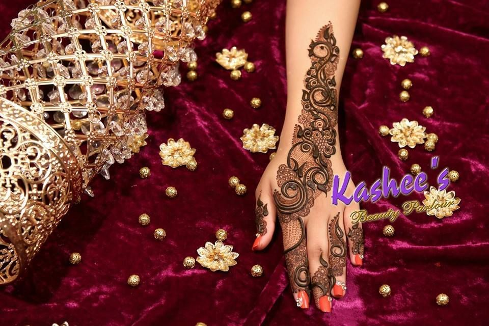 Mehndi Designs And S : Design by kashee 's beauty parlour bridal mehndi designs