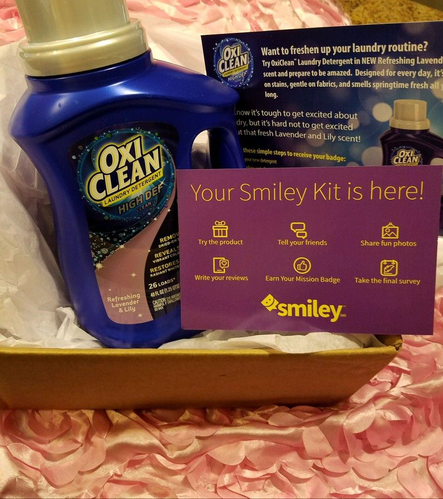 Oxiclean Laundry Detergent Refreshing Lavender Lily