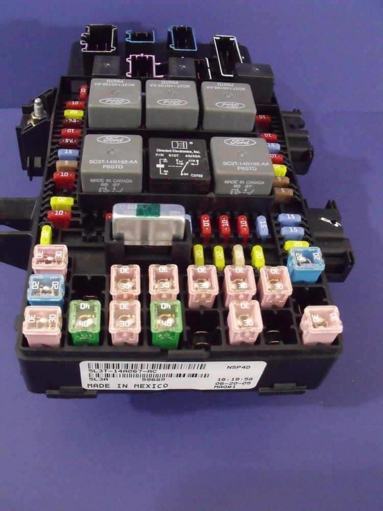 2005 2006 ford f-150 in cab fuse relay box control module oem #  5l3t-14a067-ac…
