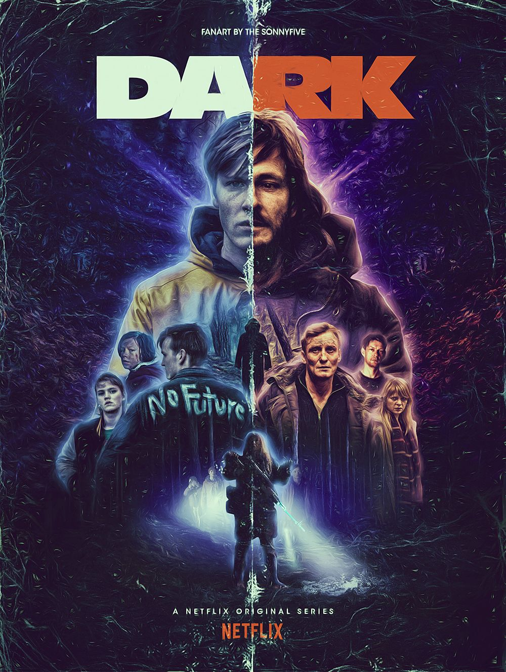 dark fanart poster by the sonnyfive dark netflix