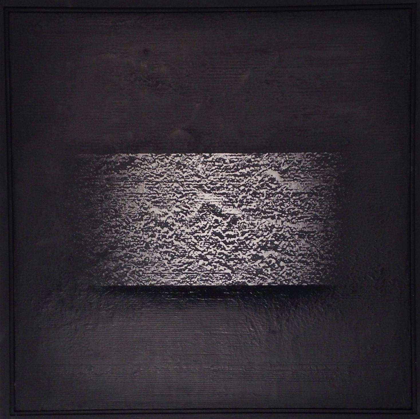 "Presence series paint on canvas 24""x 24"" W.C.Maggio artist"