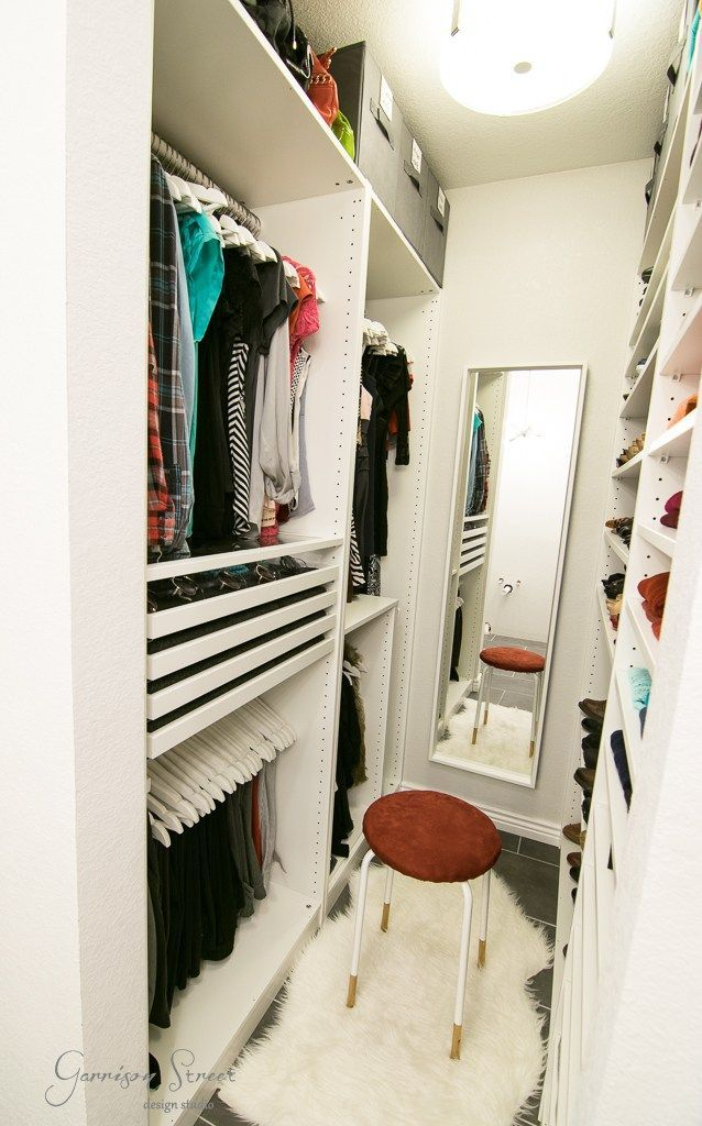 Small Bedroom Closet Organization Layout