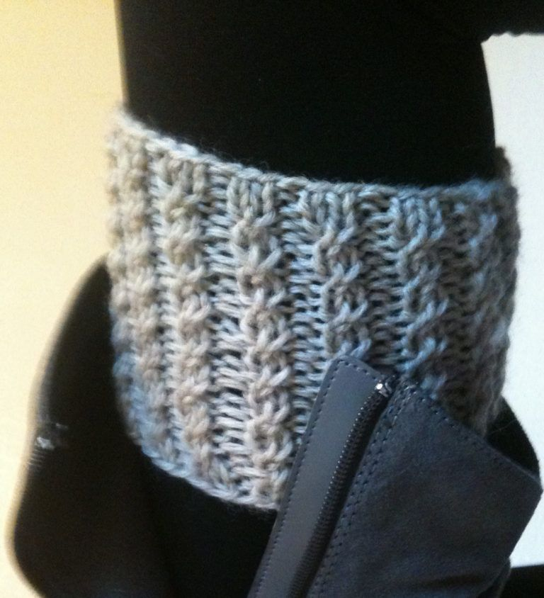 Boot Cuff Knitting Patterns #bootcuffs