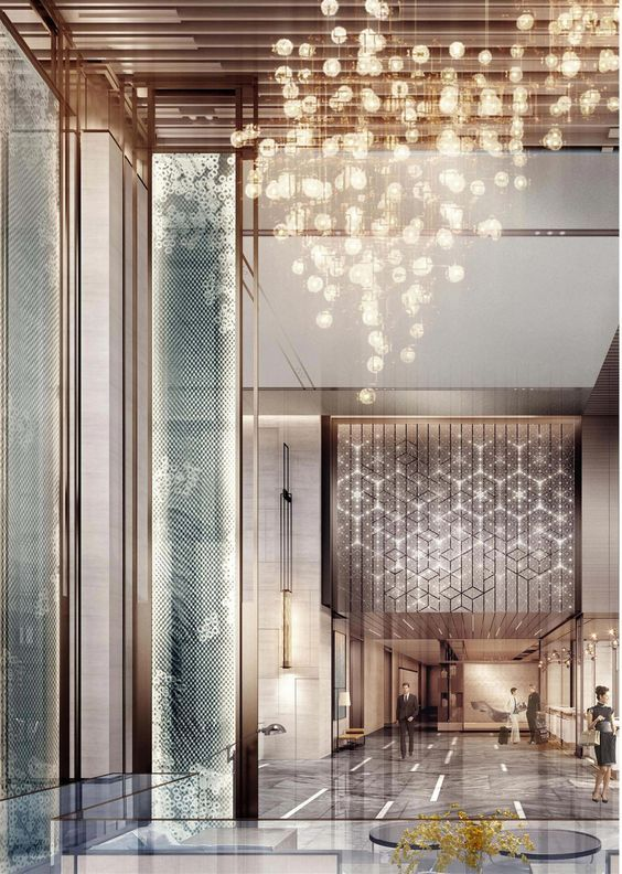 Top Luxury Hotel Interior Designers: 50 Best Hotel Lobby Design