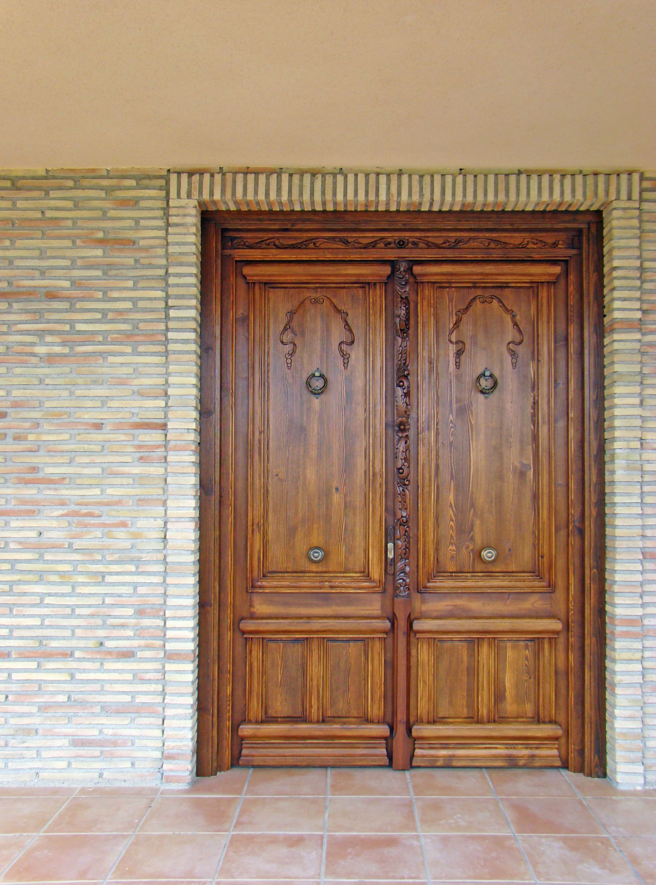 Puerta Palacete Puertas De Madera Ventanas De Madera De Madera