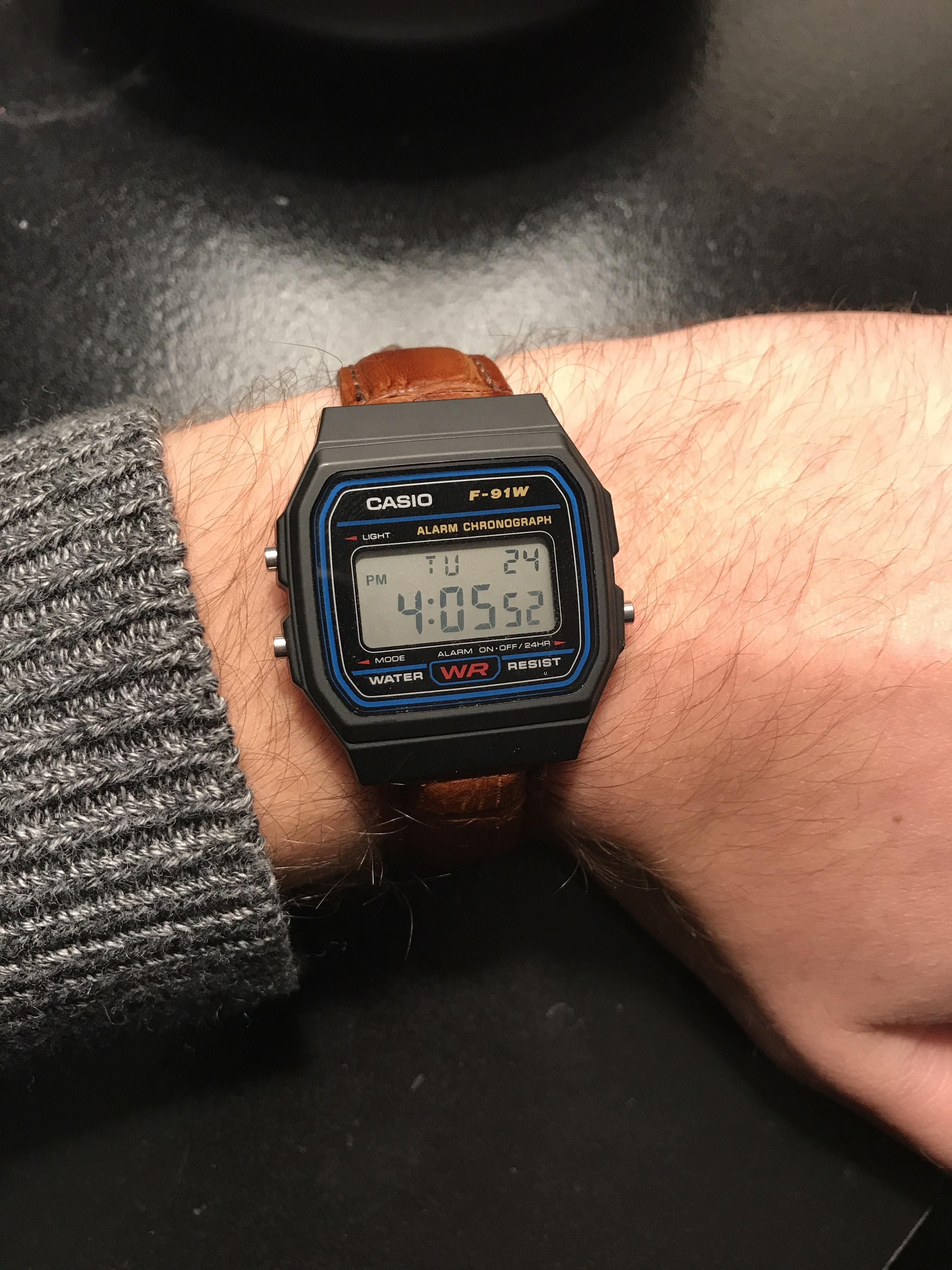 28095dc96f7  Casio f-91W  Its an abomination but its my abomination http