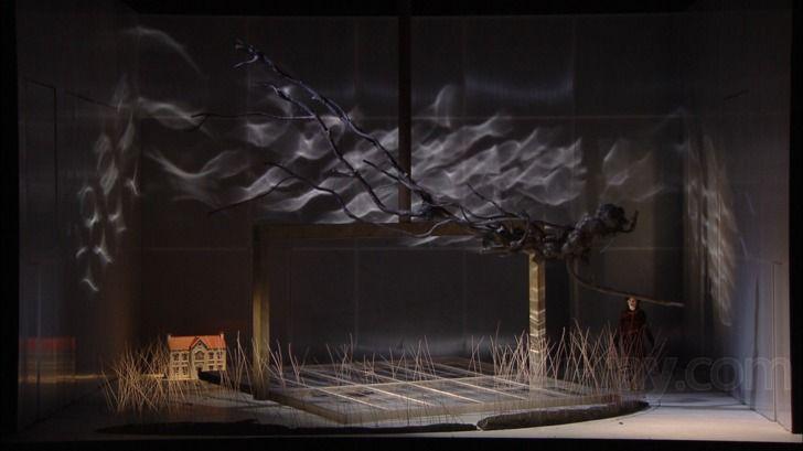 Britten The Turn Of The Screw Blu Ray Scenic Design Set Design Stage Design