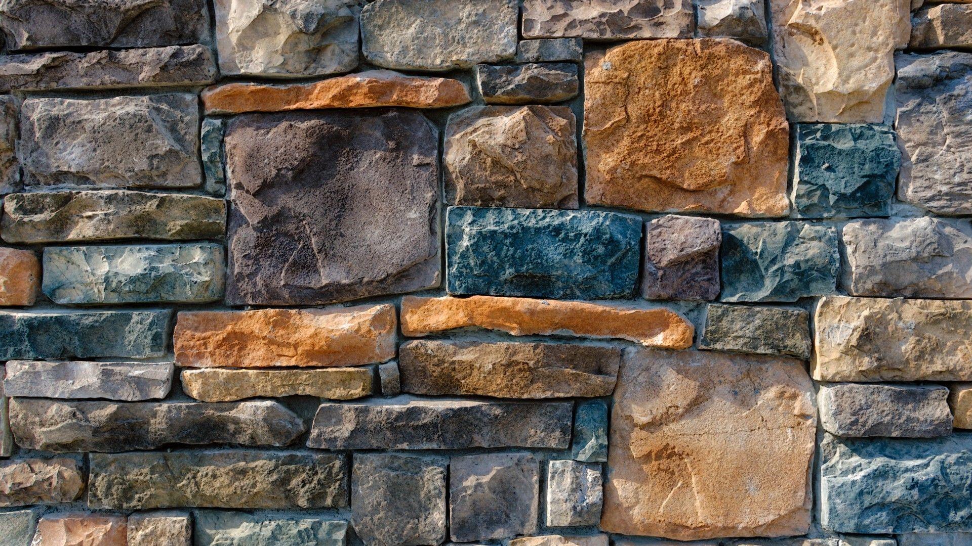 Download Wallpaper 1920x1080 Decorative, Stone, Cladding ...