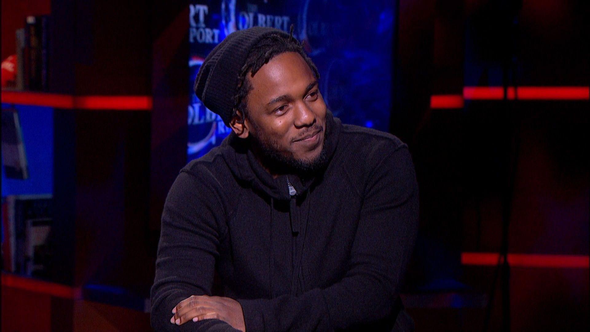 Kendrick Lamar On The Colbert Report Kendrick Lamar Rapper
