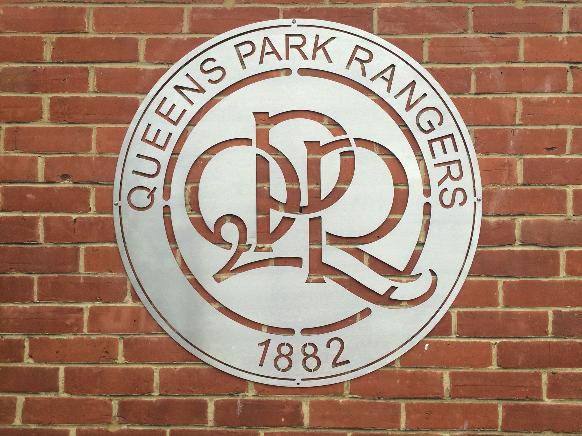 qpr stainless steel wall sign www c3signs co uk stainless steel